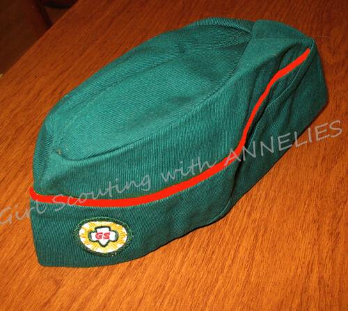 1963 HAT Sr. Girl Scout Overseas-Style RED Cord Garrison Trailblazer Halloween