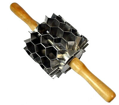 Stainless Steel Hex Cutter 42 Cuts Donut Holes Biscuits Crackers Etc.