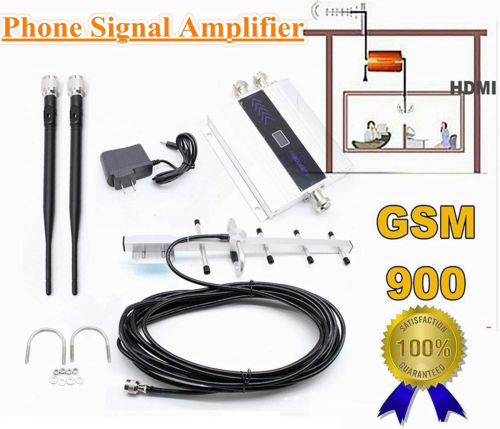 GSM 900MHz Mobile Cell Phone Signal Booster Repeater Amplifi