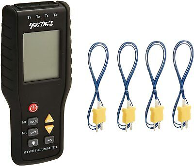 4-channel K-type Digital Thermometer Thermocouple Sensor 20 X
