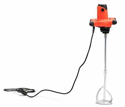 Paddle Mixer Electric Plaster Mixing Paint Stirrer Single Plastering 1800W