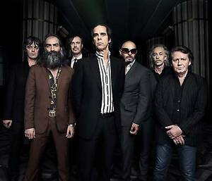 Nick Cave & The Bad Seeds - Newcastle 22/01  GA Charlestown Lake Macquarie Area Preview