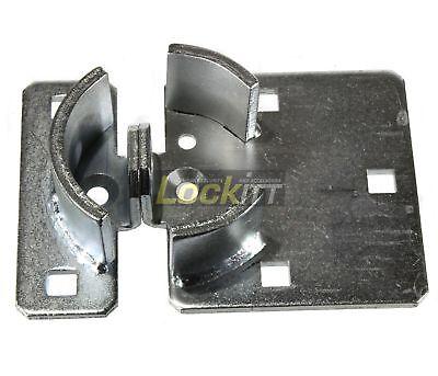 Lockitt Pl775 Steel Van Trailer Door Short Hasp For Hockey Puck Locks