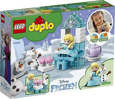LEGO DUPLO Disney Frozen Toy Featuring Elsa and Olaf's Tea Party 10920 Disney