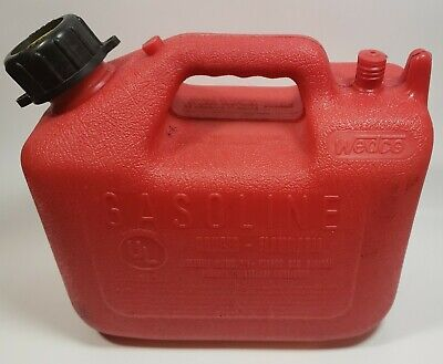 Wedco 1.25 Gallon Pre Ban Gas Can Model W 120 Vented