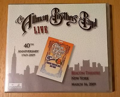 THE ALLMAN BROTHERS BAND Live Beacon Theatre March 16, 2009 3CD SUSAN...