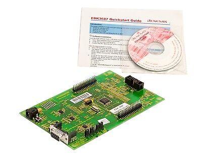 Renesas Edk3687 With Cdsoftware Evaluation Board