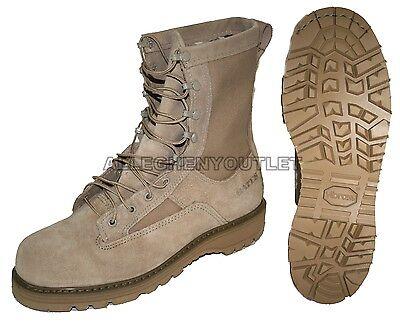 NIB US Military BATES 790 ICB Goretex Combat Boots Vibram Sole TAN 16 REGULAR
