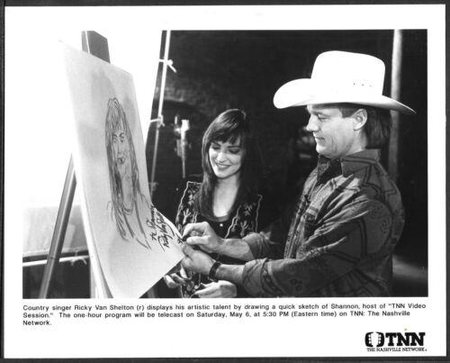 ~ Ricky Van Shelton Original 1990s Candid Promo Photo Country Music