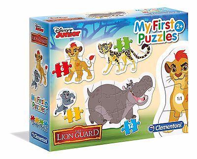 Disney Junior Die Garde der Löwen 3+6+9+12 Puzzle Kinderpuzzle Clementoni 20801 ()
