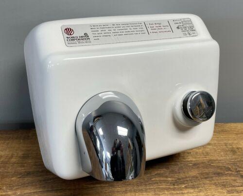 World Dryer Corp Model A 20A 115V Ceramic Commercial Bathroom Hand Dryer