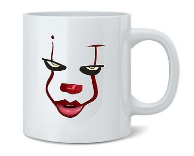 Clown Face Horror Halloween Scary 12 oz Coffee Mug Coffee Mug - 3x5 - Scary Halloween Advertising