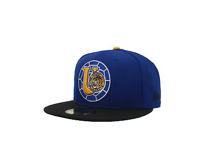 - New Era 59Fifty Cap Tigres UANL Mexican Soccer Club Fitted Hat - Blue/Black