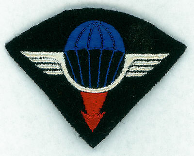 FRANCE, PARA WING, PARACHUTIST, AIRBORNE, AERIAL DELIVERY GROUP