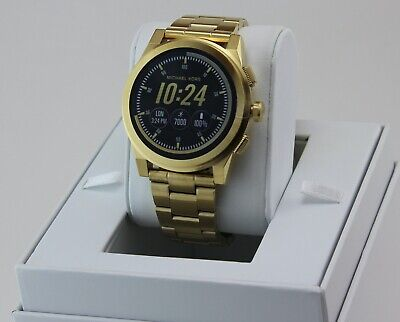 AUTHENTIC MICHAEL KORS GRAYSON GOLD ACCESS SMARTWATCH TOUCH SCREEN MKT5026 WATCH