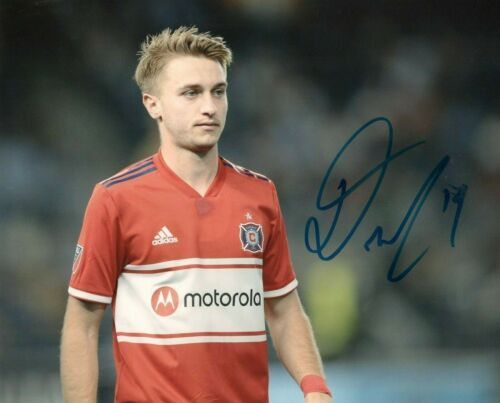 Chicago Fire Djordje Mihailovic Autographed Signed 8x10 MLS Photo COA #3