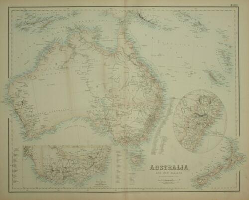 AUSTRALIA AND NEW ZEALAND BY ARCHIBALD FULLARTON. 1874.