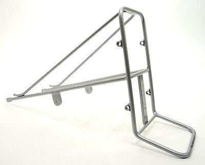 Sunlite Happy Hauler Racks Bikes//Front//Axle Mount//Black//Wood