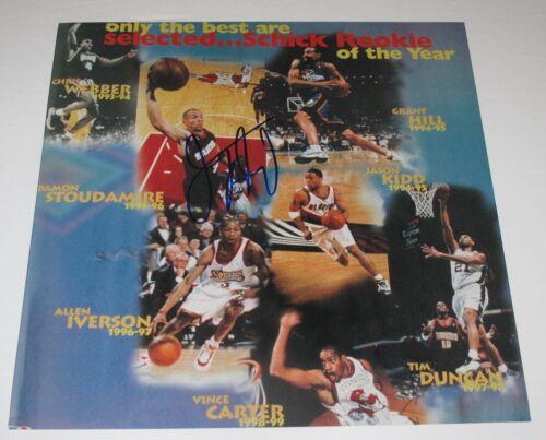 "Rare JASON KIDD signed ""ROOKIE OF THE YEAR"" 10X10 PHOTO - Phoenix Suns 94-95 COA"