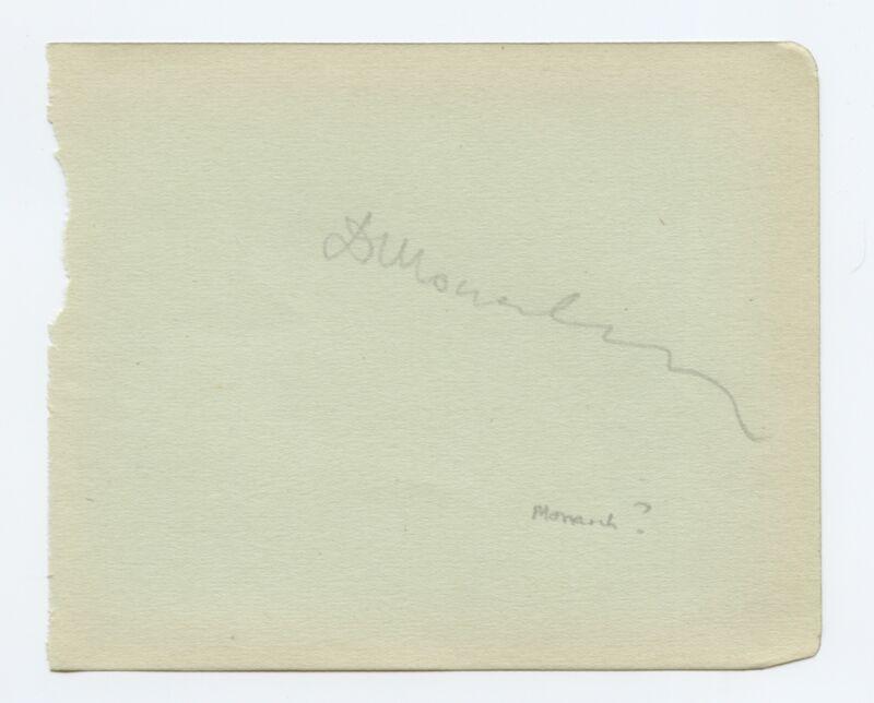 Dimitri SHOSTAKOVICH (1906–1975): Autograph Signature (COMPOSER)