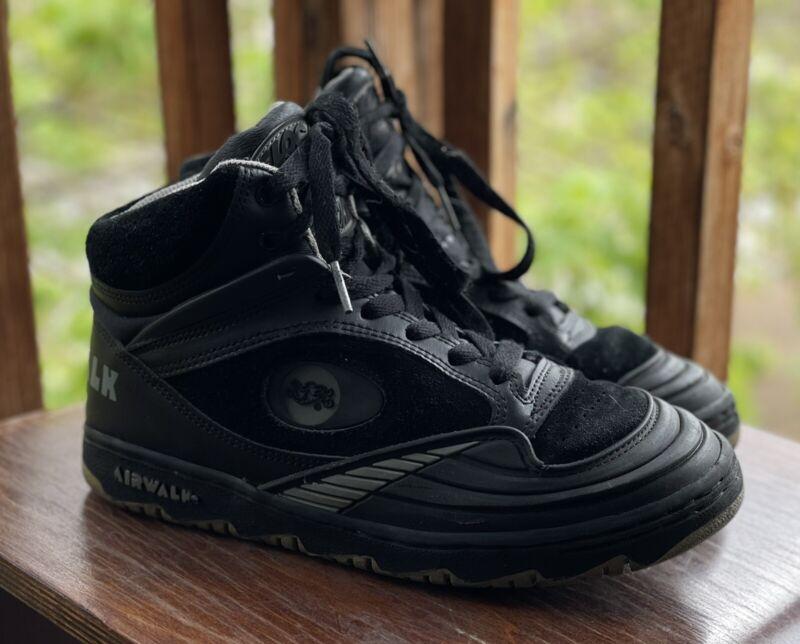 Vtg 90s AIRWALK VELOCITY 2000 High Top Skateboard Shoes Sneakers US 8 Korea