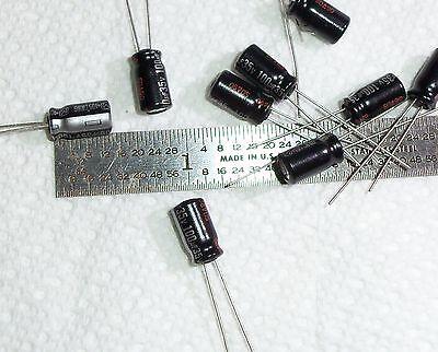 2pcs 100uf 100mfd 35v 105c Panasonic Electrolytic Capacitor Low Esr Usa Seller