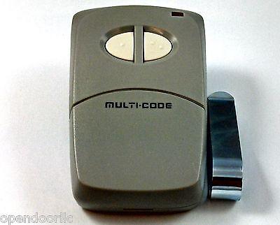 Linear Multi-Code 4120  Gate Garage 2-Button Remote MCS412001 300mhz 308911