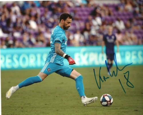 Chicago Fire Kenneth Kronholm Autographed Signed MLS 8x10 COA #3