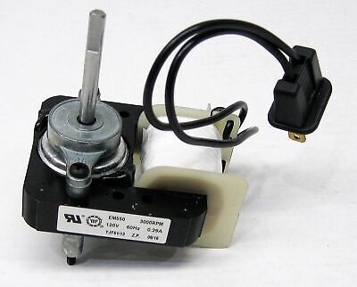 Universal Bathroom Vent Fan Ventilator Motor 50cfm For Broan Nutone 65100 C01575