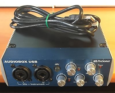 Presonus Audiobox USB Audio MIDI Interface