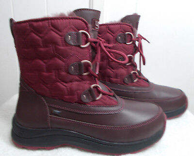 NEW UGG Boots LACHLAN Cordovan Women's Size 7