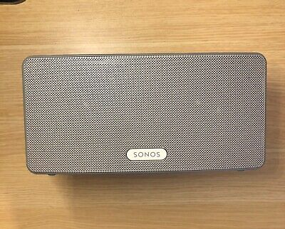 Sonos PLAY:3 Wireless Speakers - Gen 1 - White - Used but in good condition!