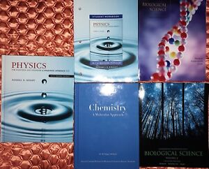 First Year Ryerson Science Textbooks