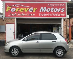 2005 Toyota Corolla ASCENT SECA AUTOMATIC HATCHBACK Long Jetty Wyong Area Preview