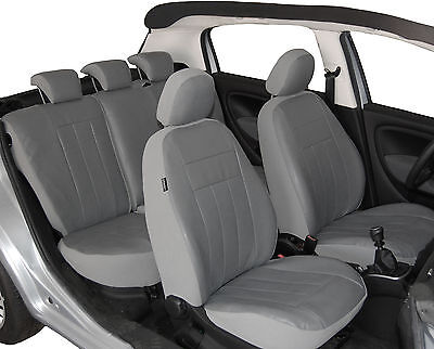 Audi A4 B8 Maßgefertigte Atmungsakttive Velours Sitzbezüge VGL1