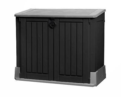 Tepro Aufbewahrungsbox 130x74x110 cm Gartenbox Auflagenbox Gerätebox