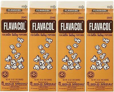 Gold Medal Prod. 2045 Flavacol Seasoning Xoazvo Popcorn Salt 35oz. 4 Pack