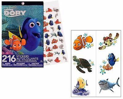Disney PIXAR Finding Dory Nemo 4 Sticker Sheets and  Tattoo book](Pixar Tattoo)