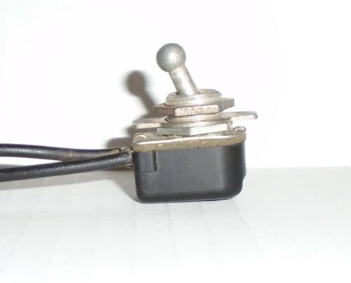 Circle F Round Ball Tip Micro Toggle Switch Radio Guitar Amp Steampunk Light Vtg