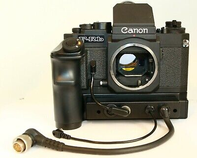 RARE CANON F-RB F1 FD MEDICAL CAMERA CR3-FN MOTOR DRIVE WINDER WORKS FINE