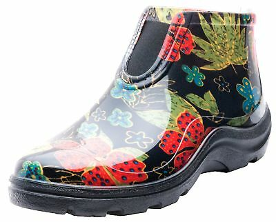 Sloggers 2841BK09 Women's Rain And Garden Ankle Boots With C