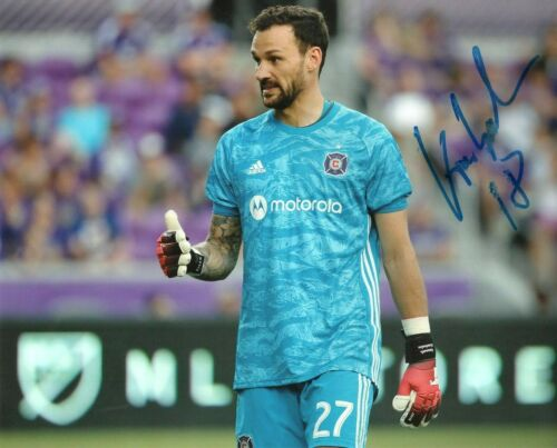 Chicago Fire Kenneth Kronholm Autographed Signed MLS 8x10 COA #2