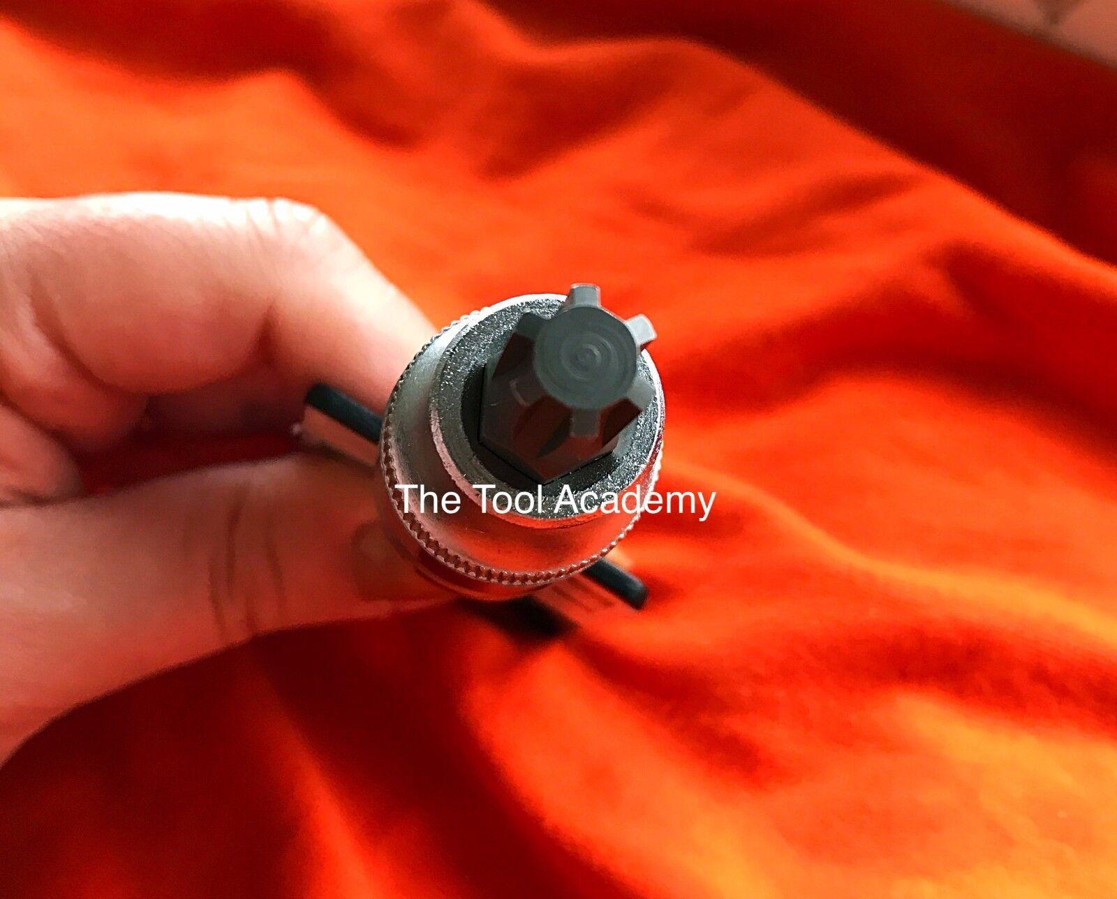 Camshaft Adjuster Tool Socket Bit M10 VW Audi 2.0 TFSI Equiv OEM T40080 6 Spline