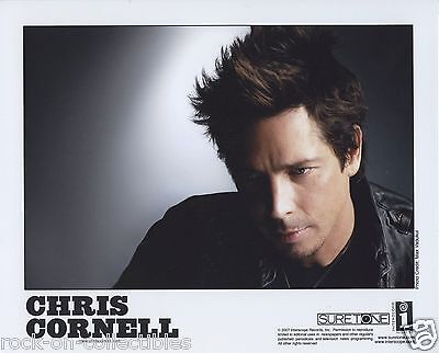 Chris Cornell Audioslave 2005-2007 Lot of 2 Original Press Photos