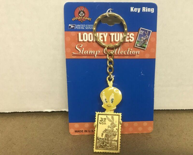 Looney Tunes Tweety Love Bird Collectible Pin & Card & Envelope & Keychain New