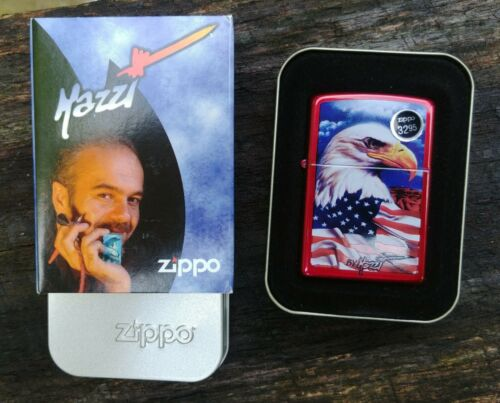 Mazzi Collection Freedom Watch Zippo Lighter Model # 24082