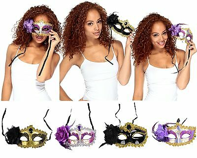 Mardi Gras Eyemask Masquerade Cosplay Costume Party Venetian Ball Halloween Mask (Venetian Mardi Gras Costumes)