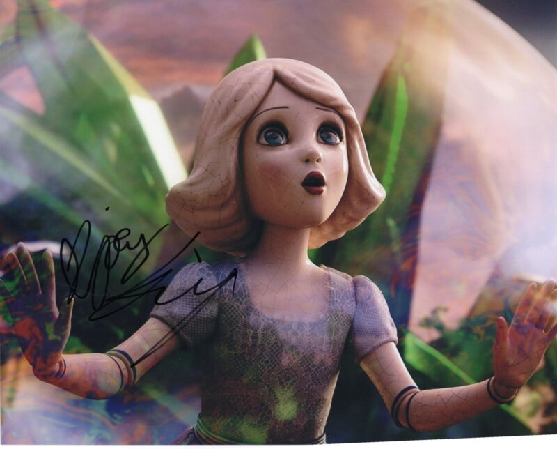Joey King Oz The Great and Powerful China Girl Signed 8x10 Photo w/COA