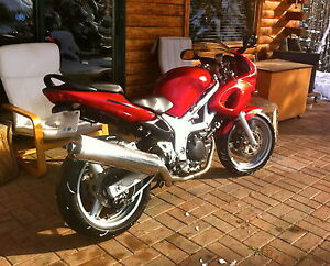 01 SV650S For Sale.  HWY KM, Very well Maintained.  Exc Cond.