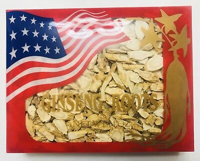 American Wisconsin Ginseng Small Slices 美國花旗小參片- 4 oz - Free US Shipping Wisconsin American Ginseng